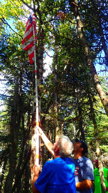 Attempting to get the flag through the trees.
