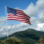Mt Liberty's Flag
